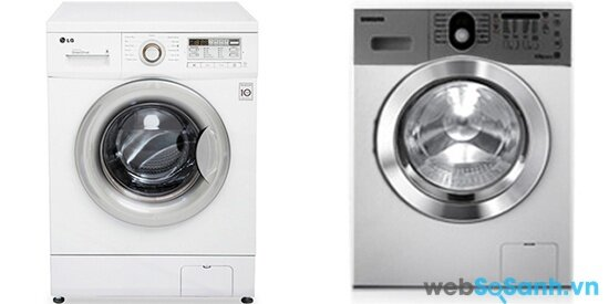 LG WD10600 và Samsung WF1752WQR (nguồn: internet)
