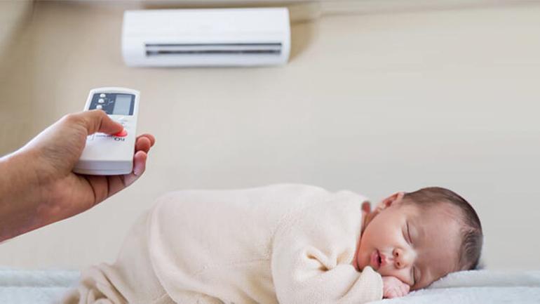 Ưu điểm máy điều hòa đối với trẻ nhỏ