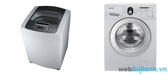 LG WFD8515DD và Samsung WF9752N5C/XSV (nguồn: internet)