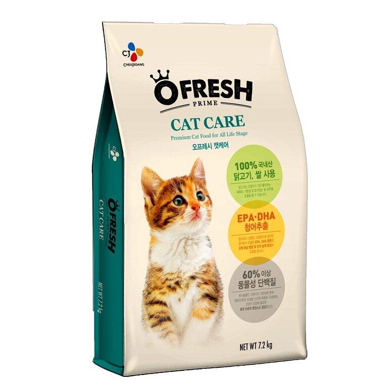 Thức ăn cho mèo O'fresh – Cat care