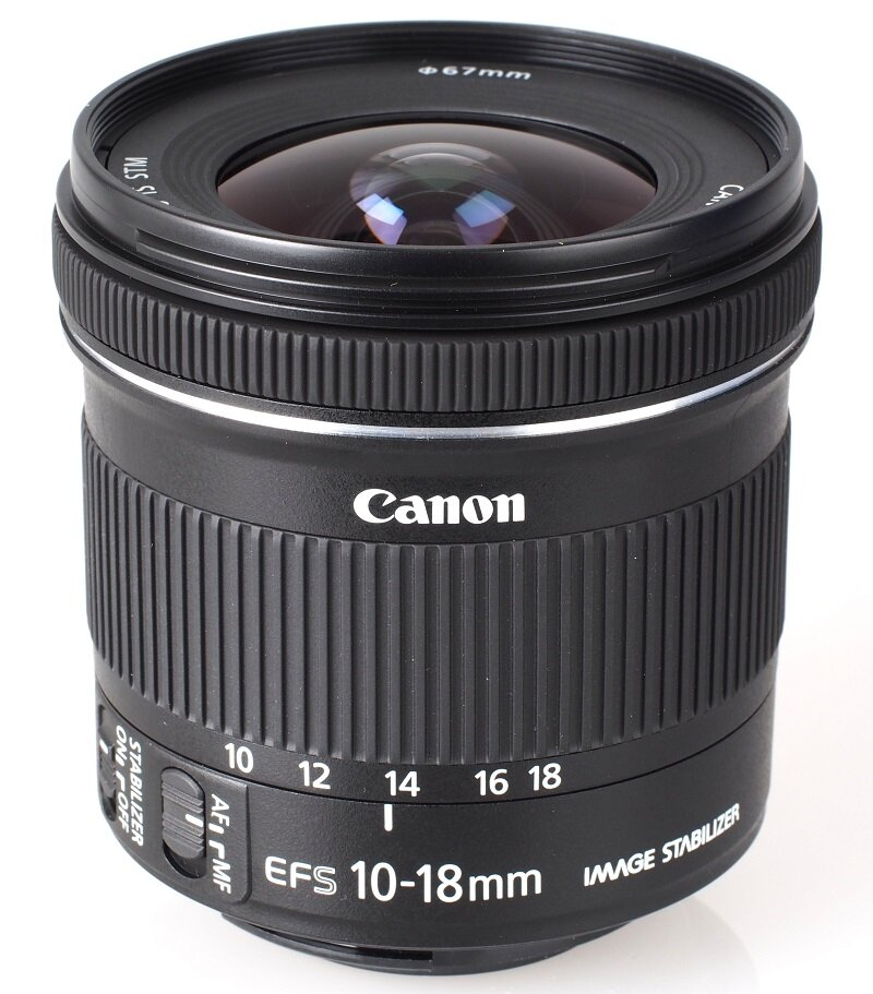 Lens góc rộng EF-S10-18mm f/4.5-5.6 IS STM