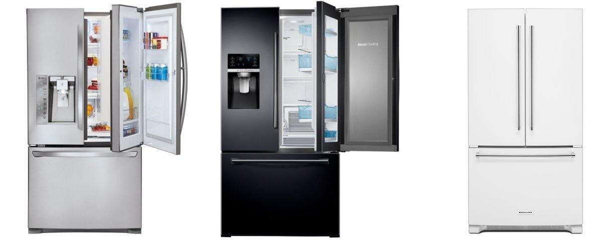 Tủ lạnh French Door thích hợp với gia đình đông người.