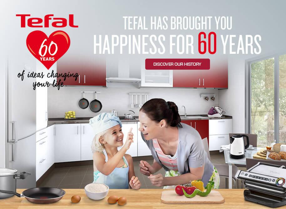 Tefal là nhà sản xuất từ Pháp và hơn 60 năm kinh nghiệm trong ngành điện gia dụng