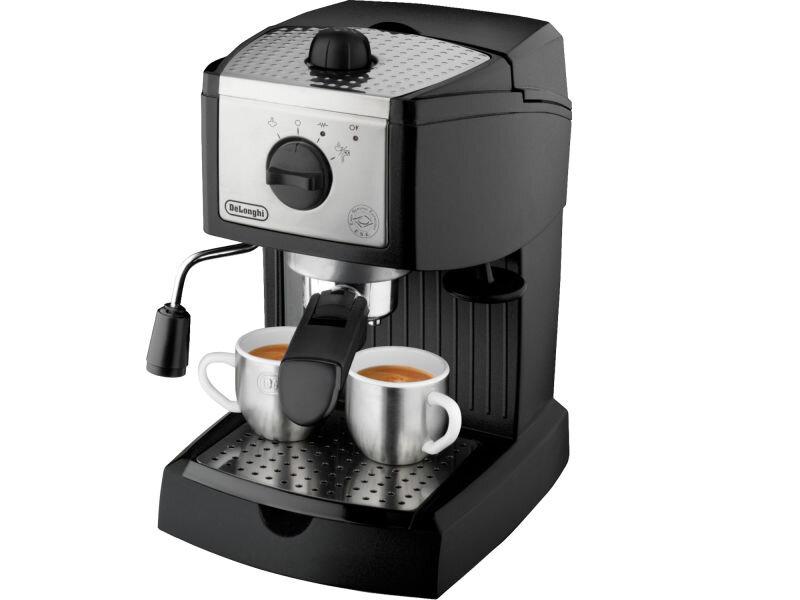 máy pha cà phê gia đình nhỏ gọn nhất - Hãy chọn DeLonghi EC155