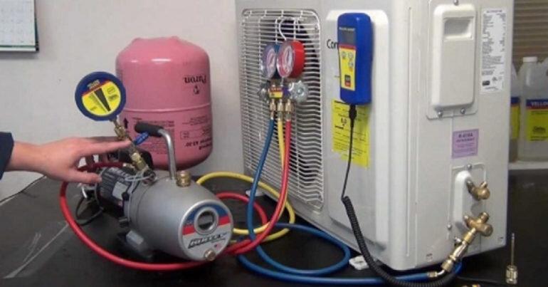 Gas điều hòa máy lạnh có cháy không ?