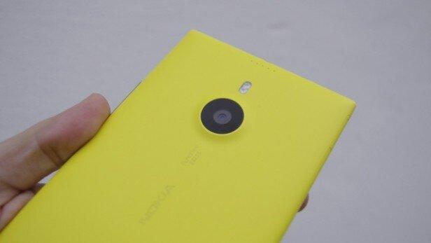 Màn hình của Nokia Lumia 1520