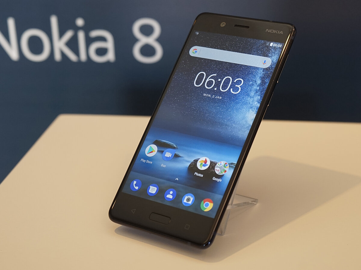 Với Dual Sight, Nokia 8 cho phép quay video đồng thời cả camera trước và sau