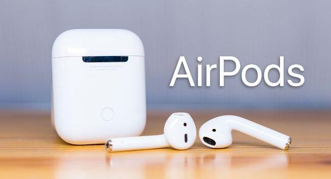 Tính năng của tai nghe không dây Apple AirPods