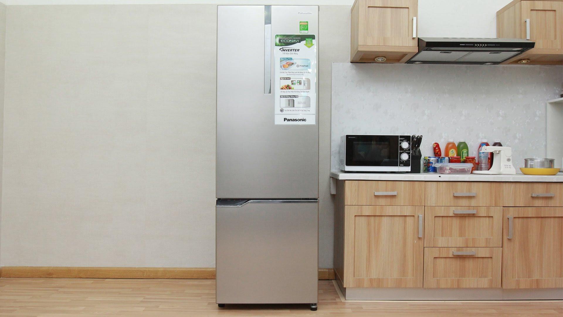 Panasonic NR-BV288QSVN Inverter 255L được áp dụng công nghệ Inverter, là một trong những tủ lạnh giá rẻ tiết kiệm điện nhất hiện nay.