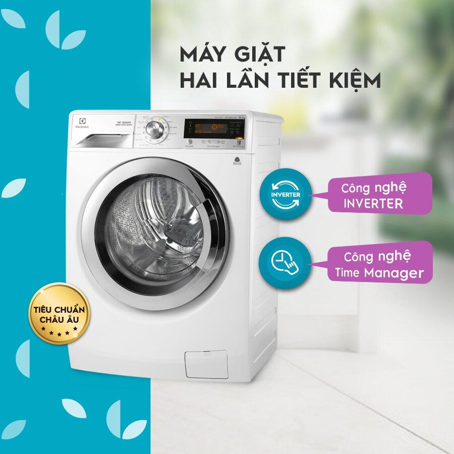 Các chức năng của máy giặt Electrolux