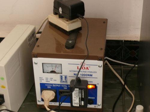 Ổn áp là thiết bị cần thiết ở những khu vực điện lưới yếu và chập chờn.