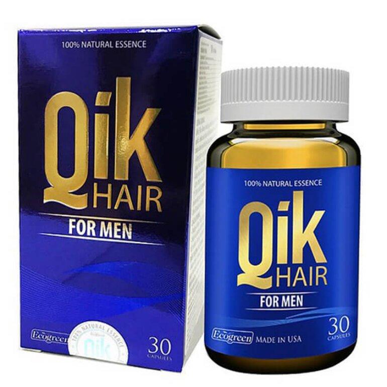 Viên uống mọc tóc Quick Hair dành cho nam