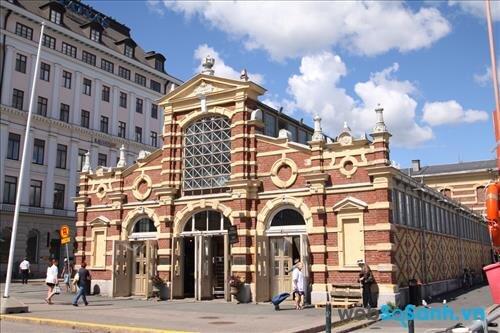 Old Market Hall ở Phần Lan