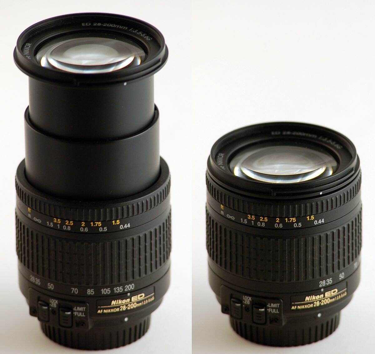 Lens Zoom của hãng Nikon