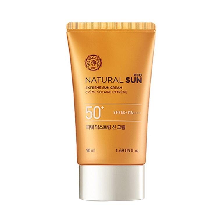 Kem chống nắng The Face Shop Natural Sun Eco Extreme Sun Cream SPF 50 PA++++
