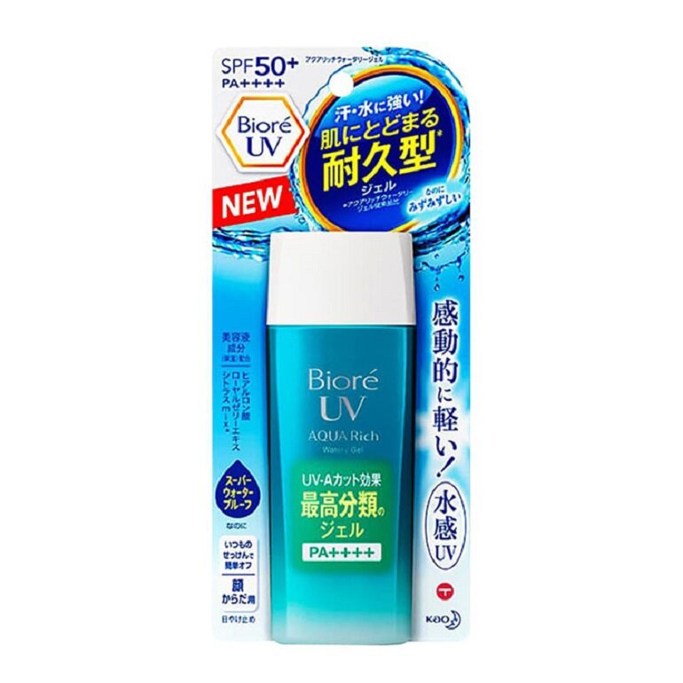 Kem chống nắng biore uv aqua rich watery gel spf50+/pa++++