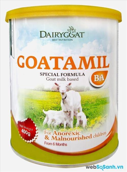 Sữa dê Goatamil BA