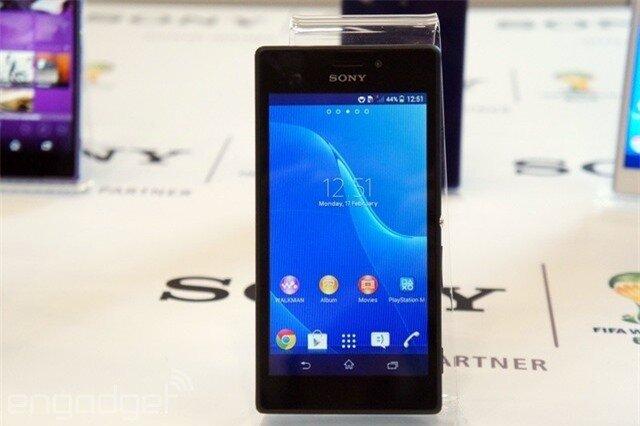 Sony ra mắt Xperia M2 với cấu hình cao và giá rẻ