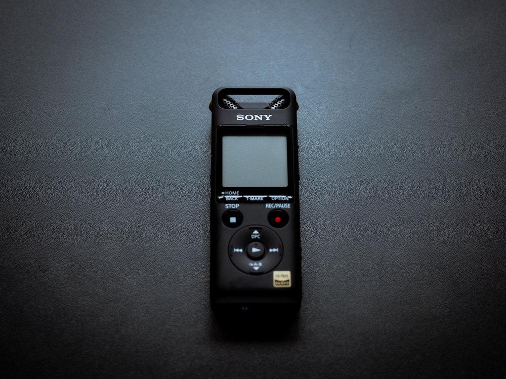Sản phẩm máy ghi âm của Sony được đánh giá cao nhiều mặt