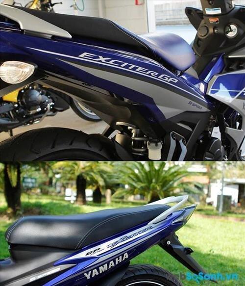 Động cơ là sự cải biến vượt trội trên Yamaha Exciter 150 so với Yamaha Exciter 135