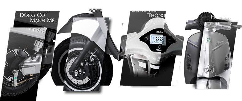 đánh giá xe máy điện pega aura+