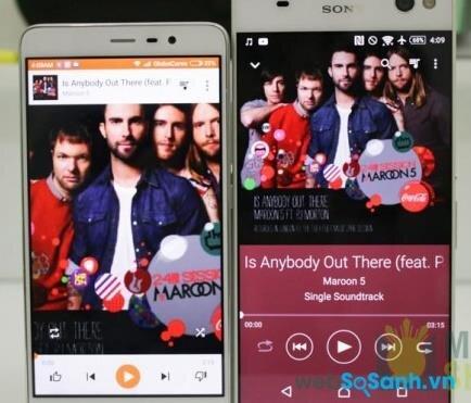 So sánh C5 Ultra và Redmi Note 3