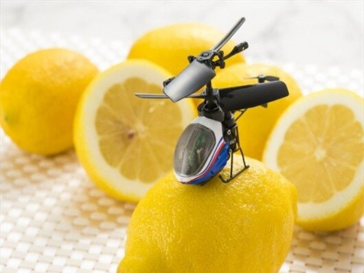 The Nano-Falcon is the world's smallest remote controlled helicopter
