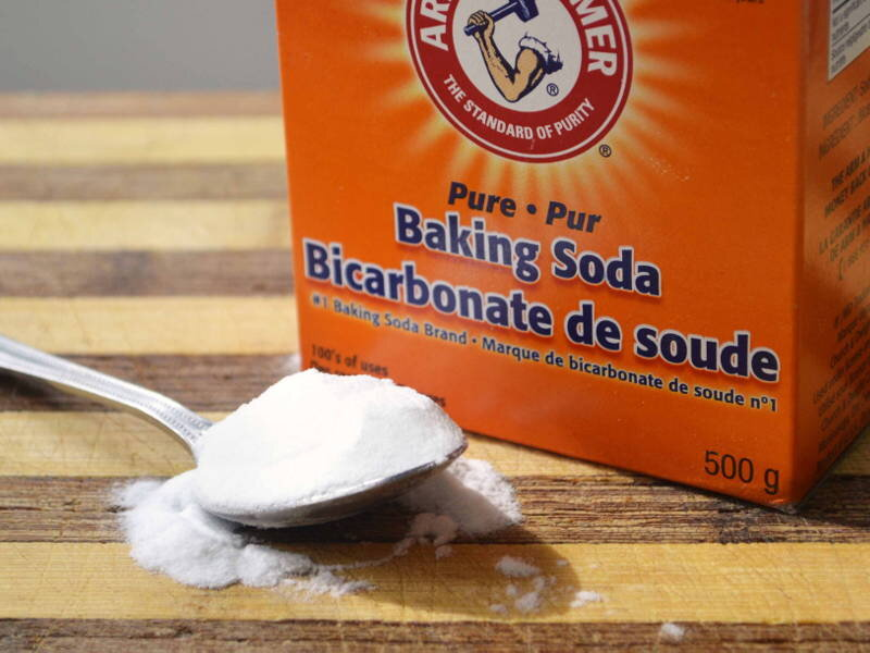 Bột baking soda rất tốt cho khử mùi