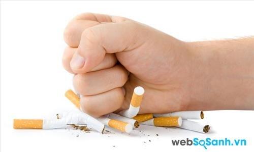 Thuốc lá có thể gây tổn thương não bộ (nguồn: internet)