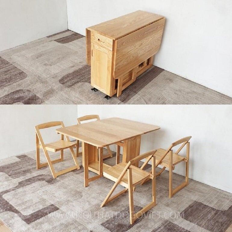 bàn ghế ăn thông minh
