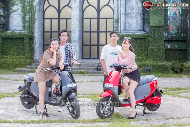 Xe máy điện Gogo SS Dibao chính hãng đủ màu sắc