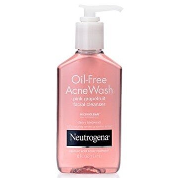 Sữa rửa mặt trị mụn Neutrogena Acne Wash Pink Grapefruit Facial Cleanser