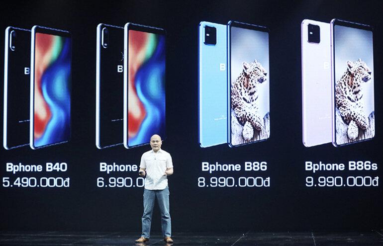 đánh giá bphone b86