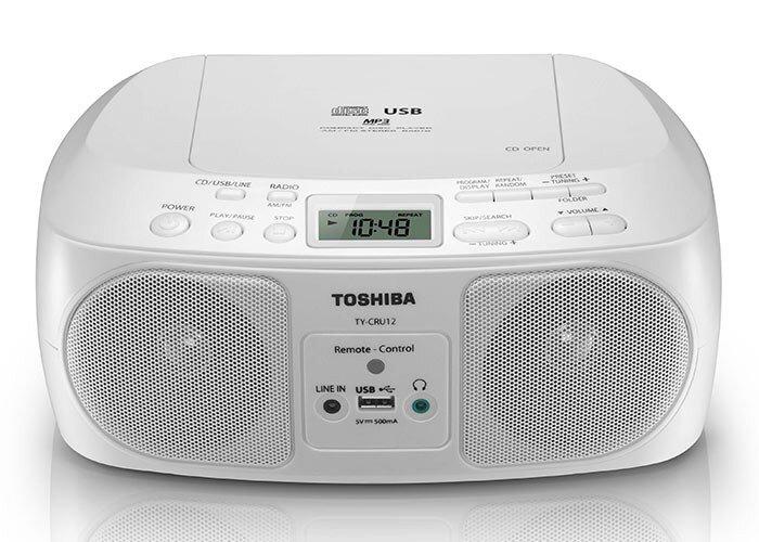 Đài đĩa học tiếng Anh đến từ thương hiệu Toshiba