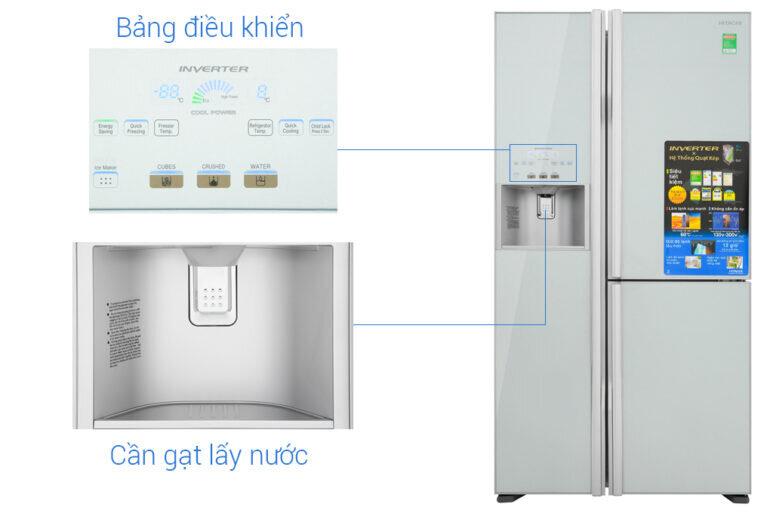 tủ lạnh Hitachi R-M700GPGV2 (GS) 584 Lít