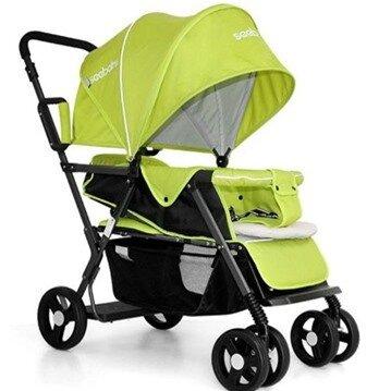 Xe đẩy đôi trẻ em Seebaby T12