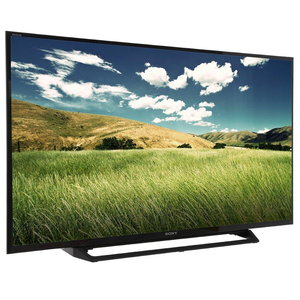 Smart tivi 32 inch của Sony với đường viền đen mỏng, đem đến trải nghiệm hình ảnh sâu, sống động khi xem