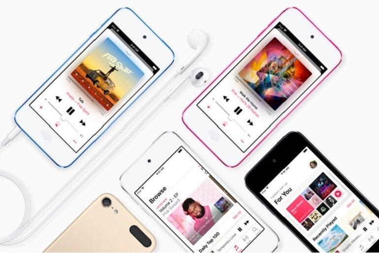 máy nghe nhạc ipod touch 2019