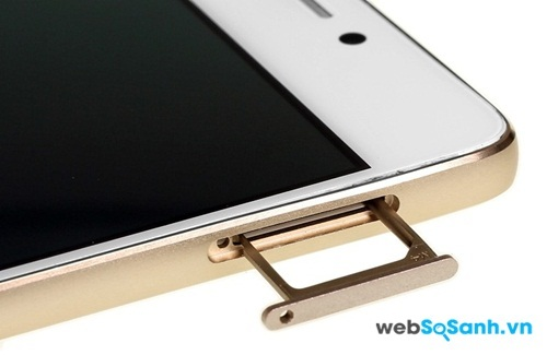 Điện thoại Gionee-Elife-S5.1 sử dụng microSim