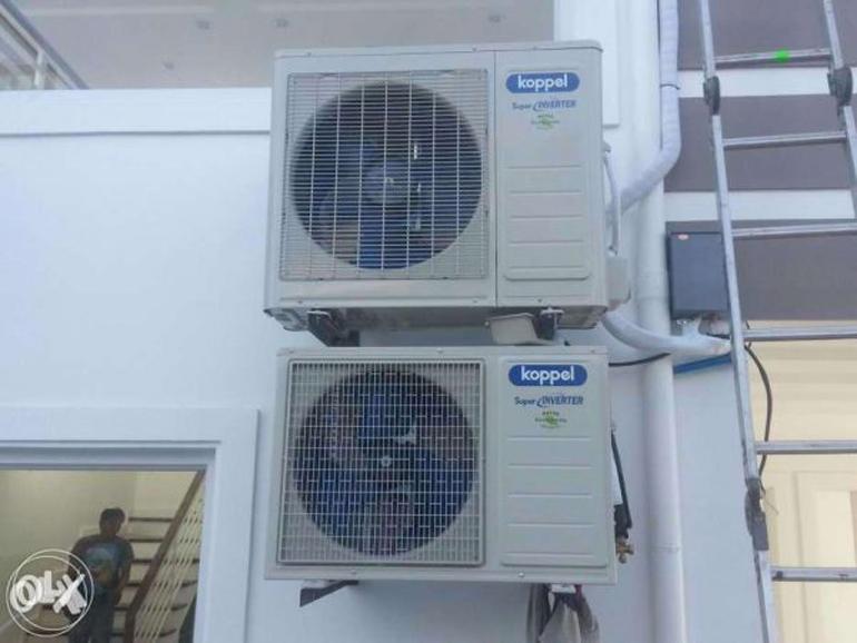 Lắp đặt cục nóng nơi mặt trời chiếu thẳng khiến điều hòa không mát.