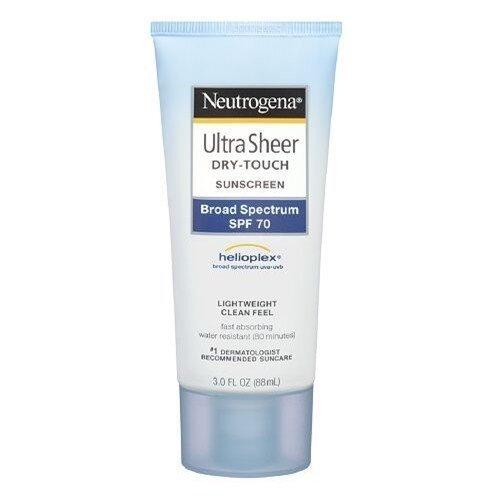 Neutrogena Ultra Sheer Dry Touch Sunscreen SPF 70