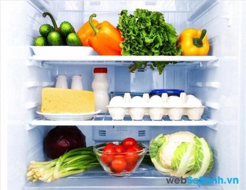 hệ thống làm lạnh Minus - Zero giúp thực phẩm không bị khô, không bị đông đá