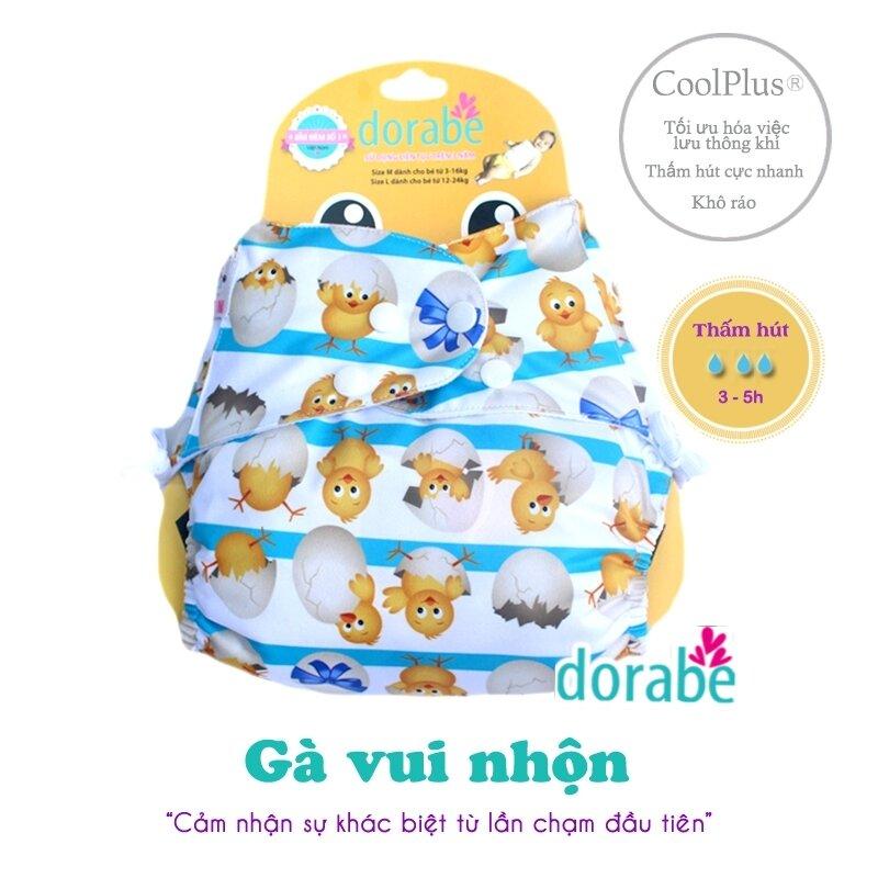 Bỉm vải Dorabe hình chú gà vui nhộn