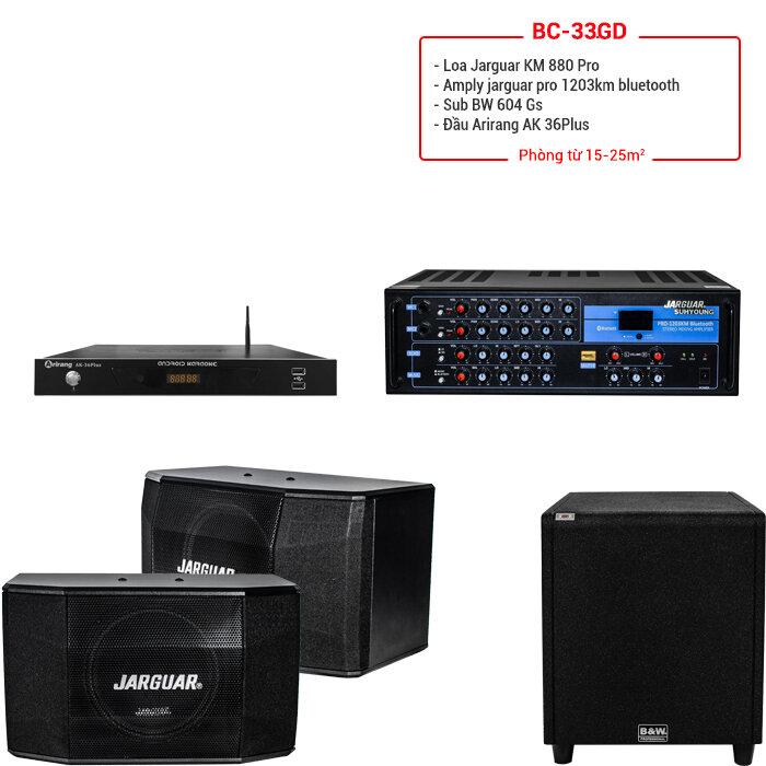 Dàn karaoke BC-33GD