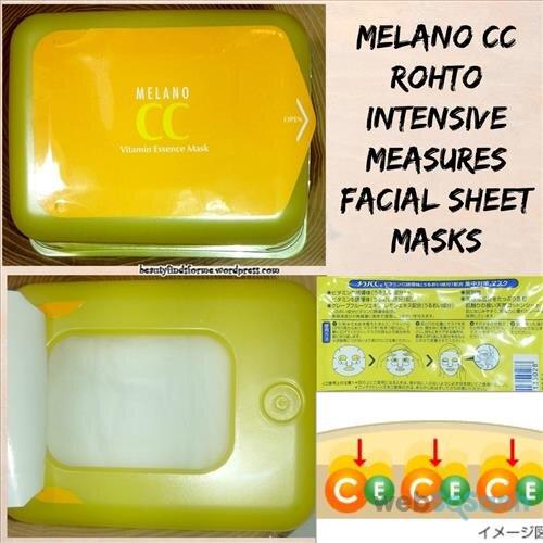 mặt nạ vitamin C Melano CC Mask review