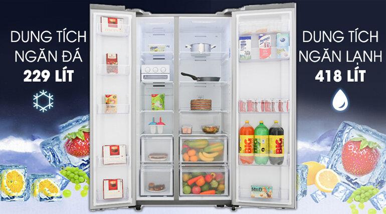 Tủ lạnh Samsung RS62R5001M9/SV - inverter, 647 lít
