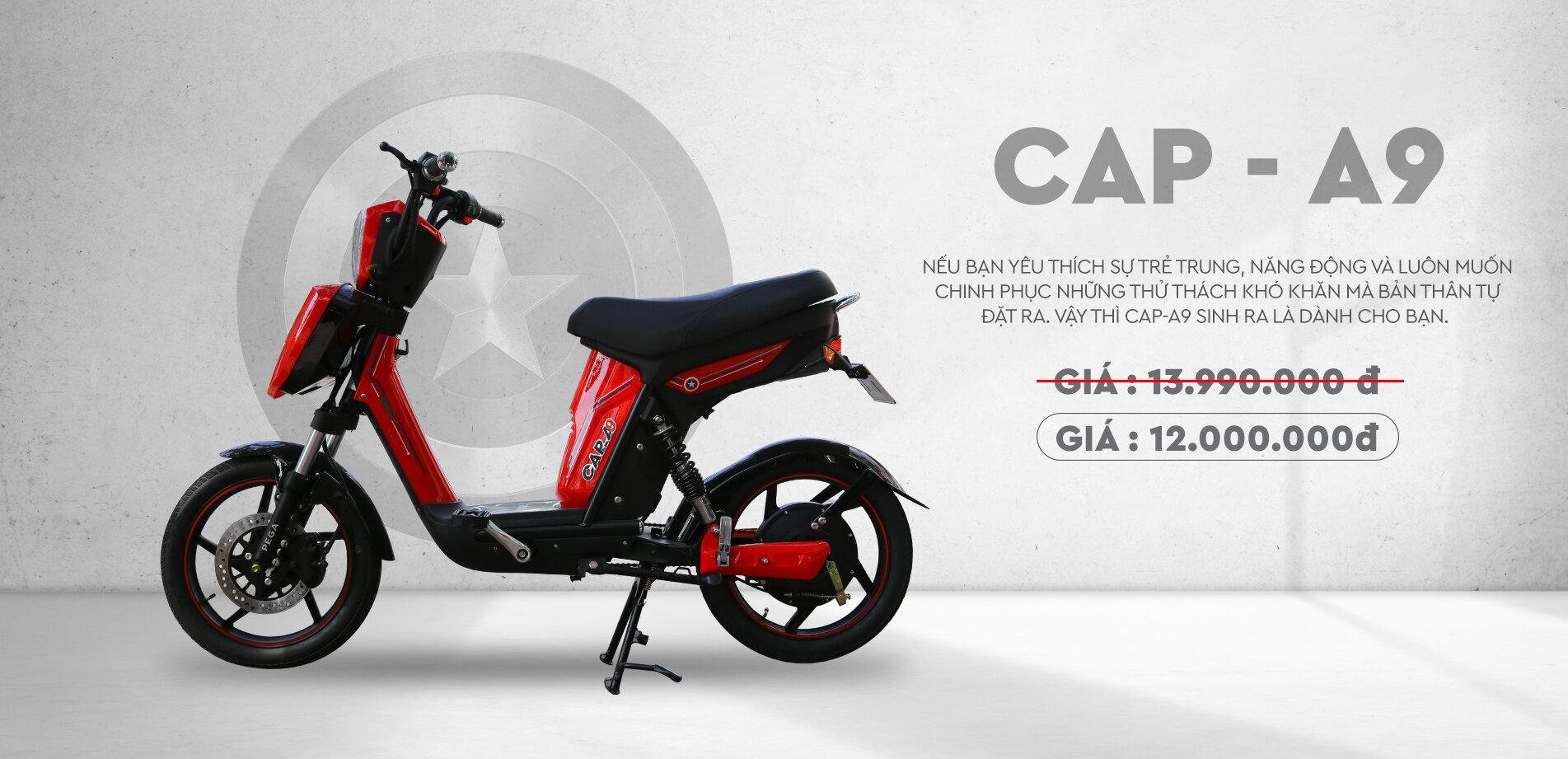 Xe đạp điện Pega Cap-A9