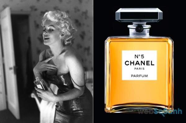 nước hoa chanel cùng marilyn