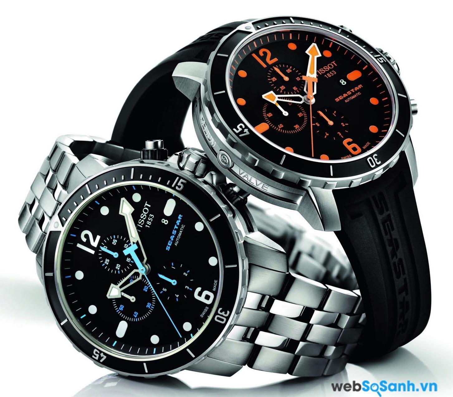 Một chiếc đồng hồ Tissot
