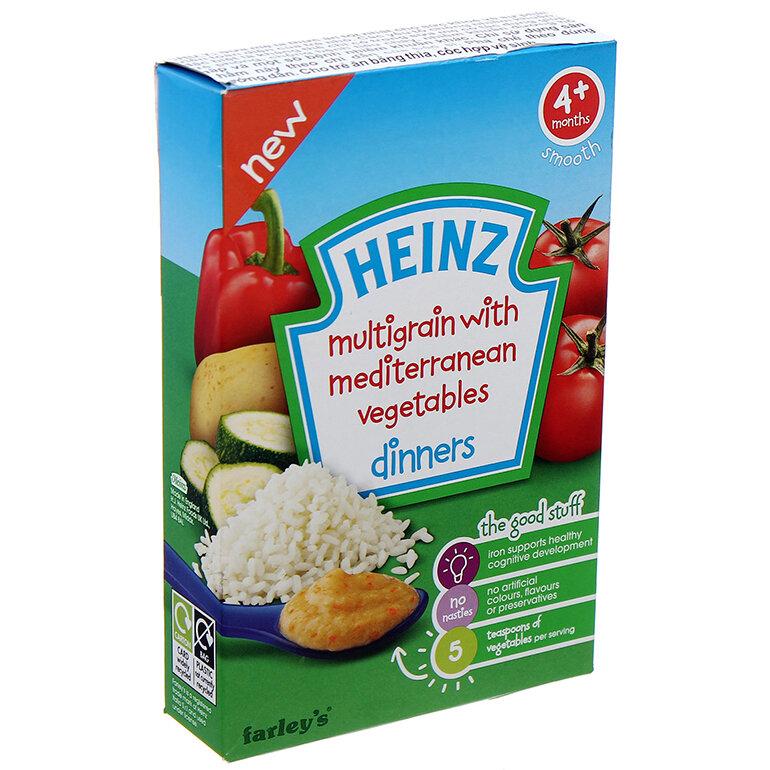 Bột ăn dặm cho bé 6 tháng tuổi Heinz